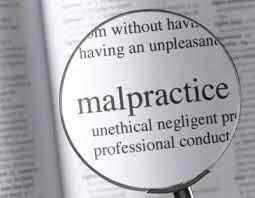 Malpractice Claims....