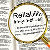 Reputation and Reliability