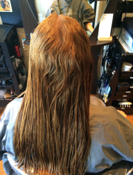Adding Hollywood Glamour to Thermally Reconditioned Hair