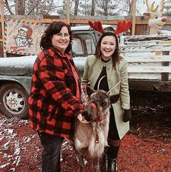 Snowman's Reindeer Farm