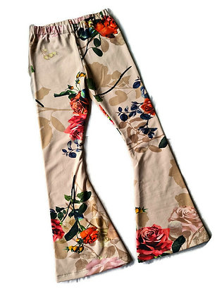 Flared broekje Roses