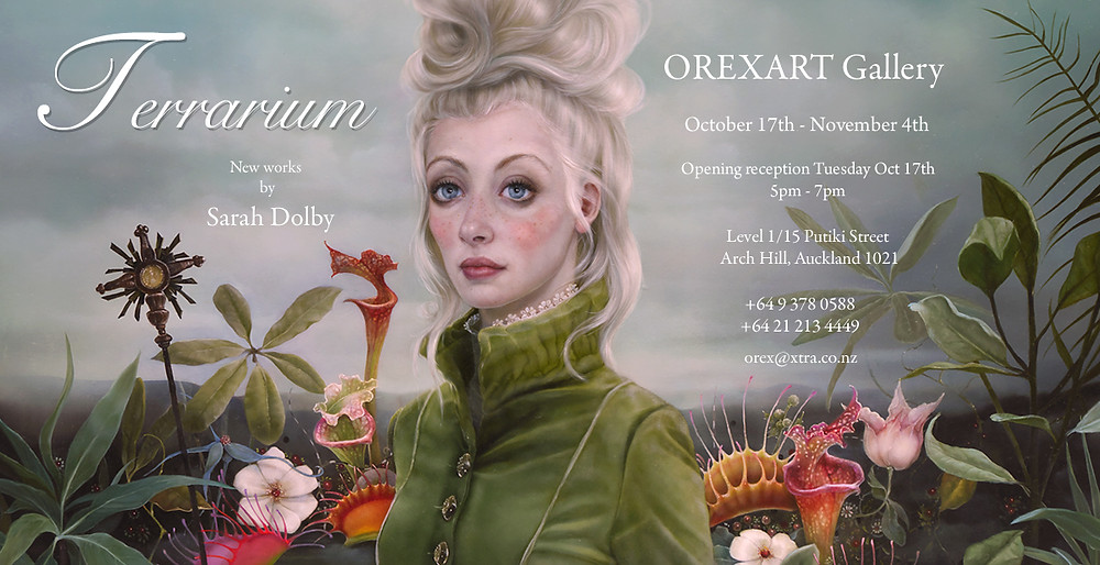 Invite to Terrarium solo show