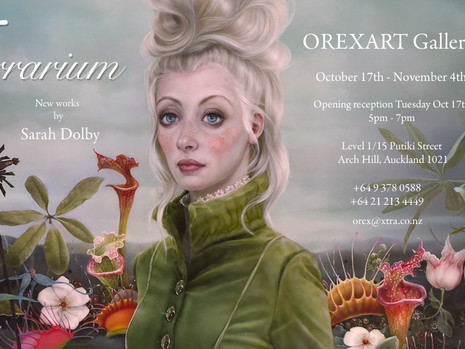 Terrarium - new works at OREXART Gallery