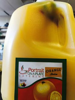 POP Brand Orange Juice
