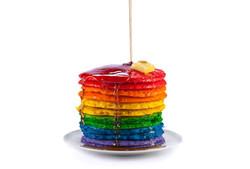 Colorful Pancakes