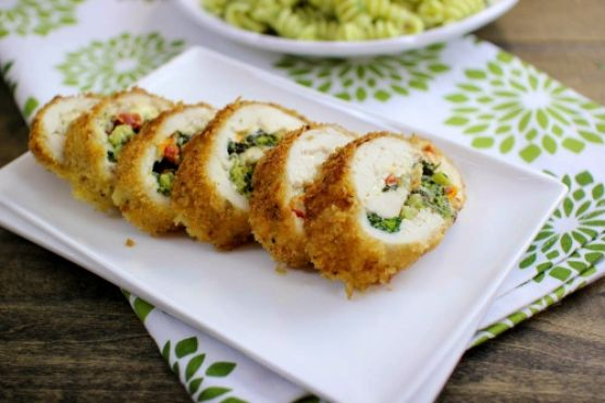 Broccoli Stuffed Chicken