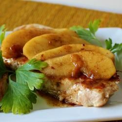 Caramel Apple Pork