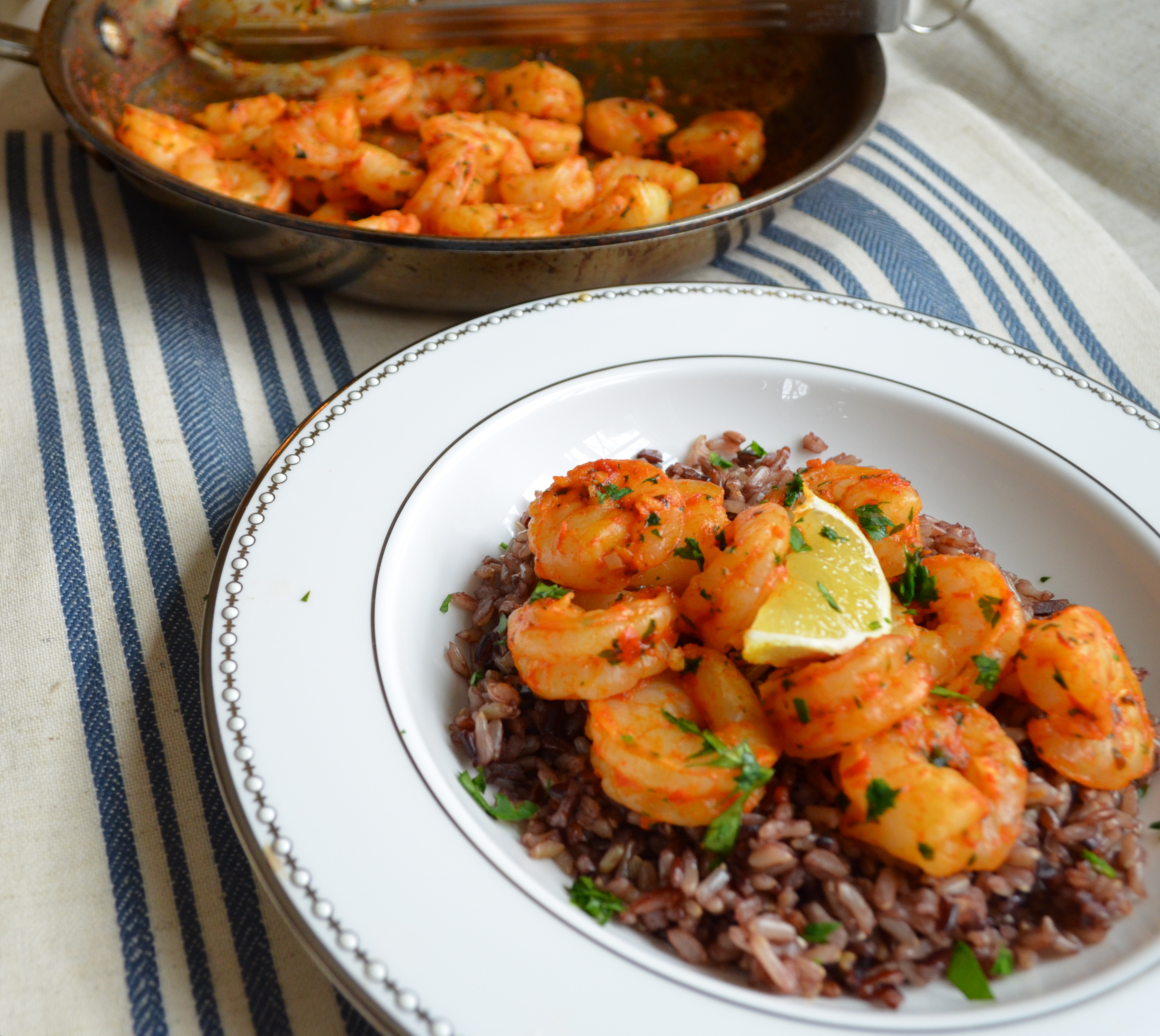 Coconut Shrimp w/ Wild Rice