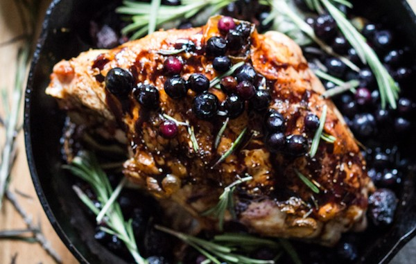 Blueberry Chutney Turkey
