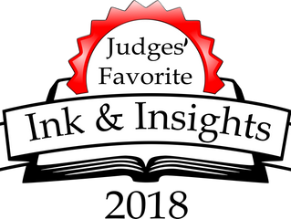 Ink and Insights top three winner!