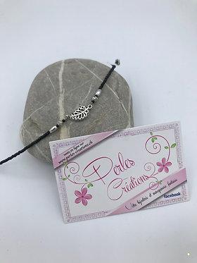 Bracelet magnifique petite feuille