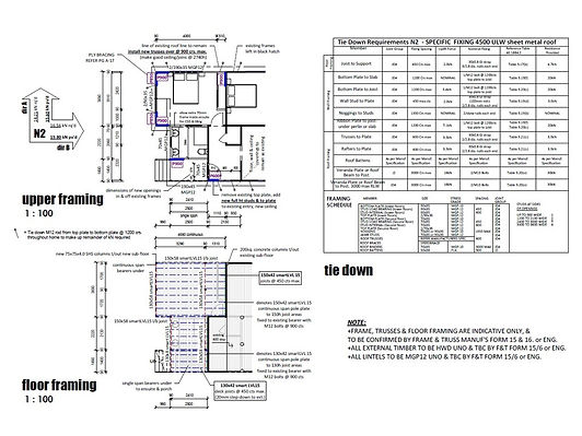 Plans for house extension Brisbane north side