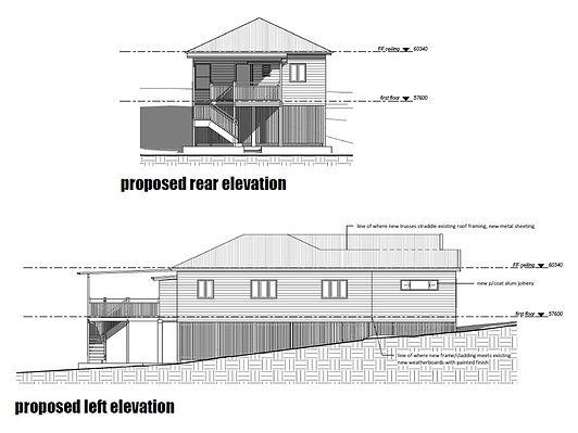 Plans for home renovations Brisbane north side
