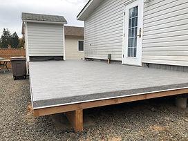 Deck Build Duncan