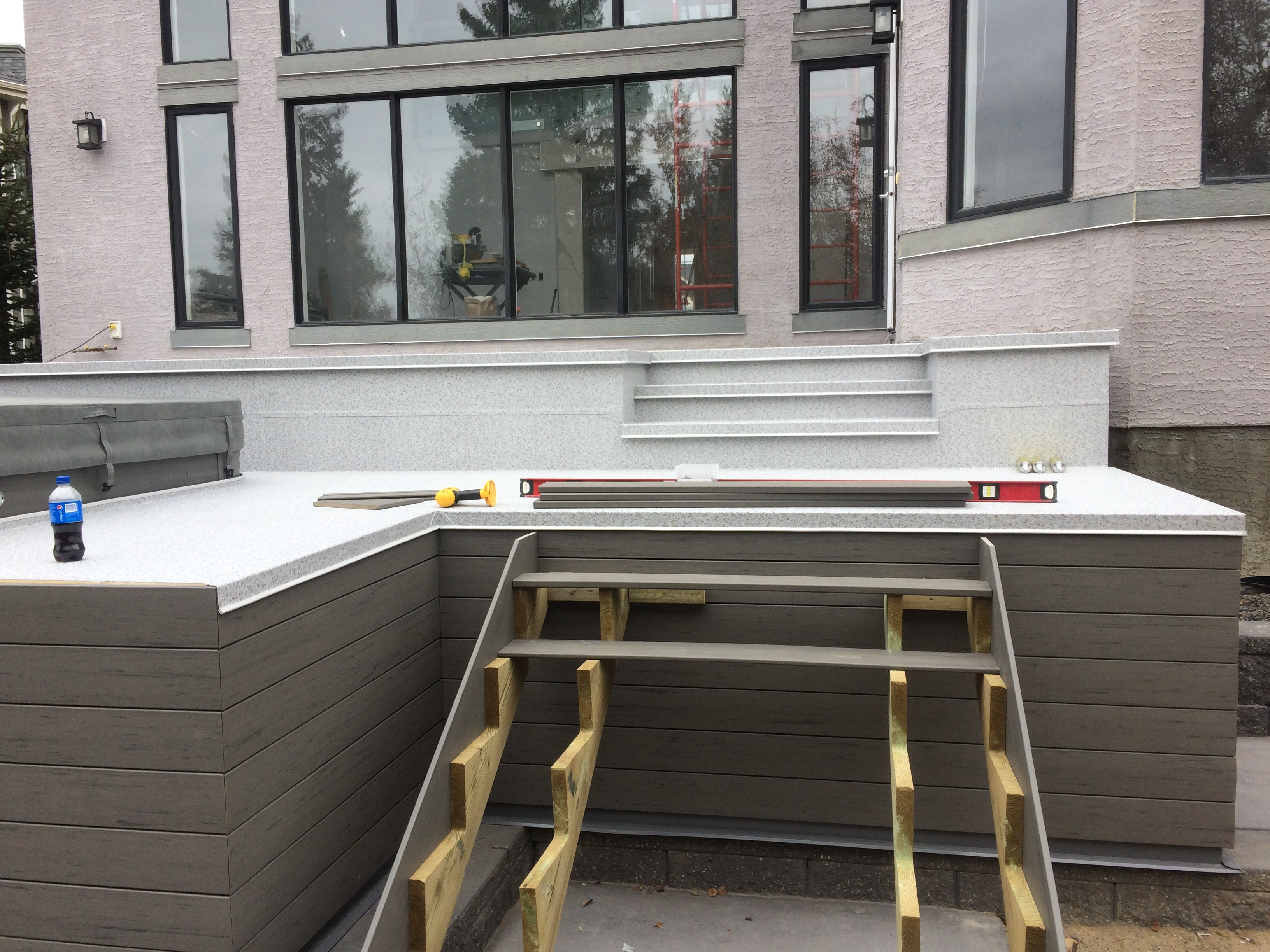 Vinyl decking project calgary