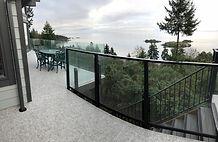 Deck buid Nanaimo, Nanaimo deck company, Aluminum railing nanaimo