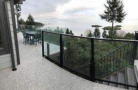 Aluminum glass railing nanaimo