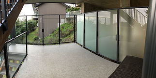 aluminum privacy wall, 6' high aluminum railing nanaimo