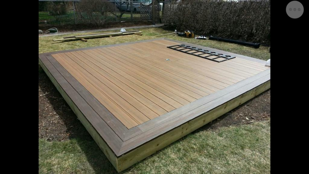 Composite Deck Red Deer