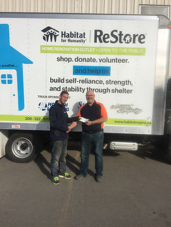 deck Railing Donation, habitat for humanity, donations