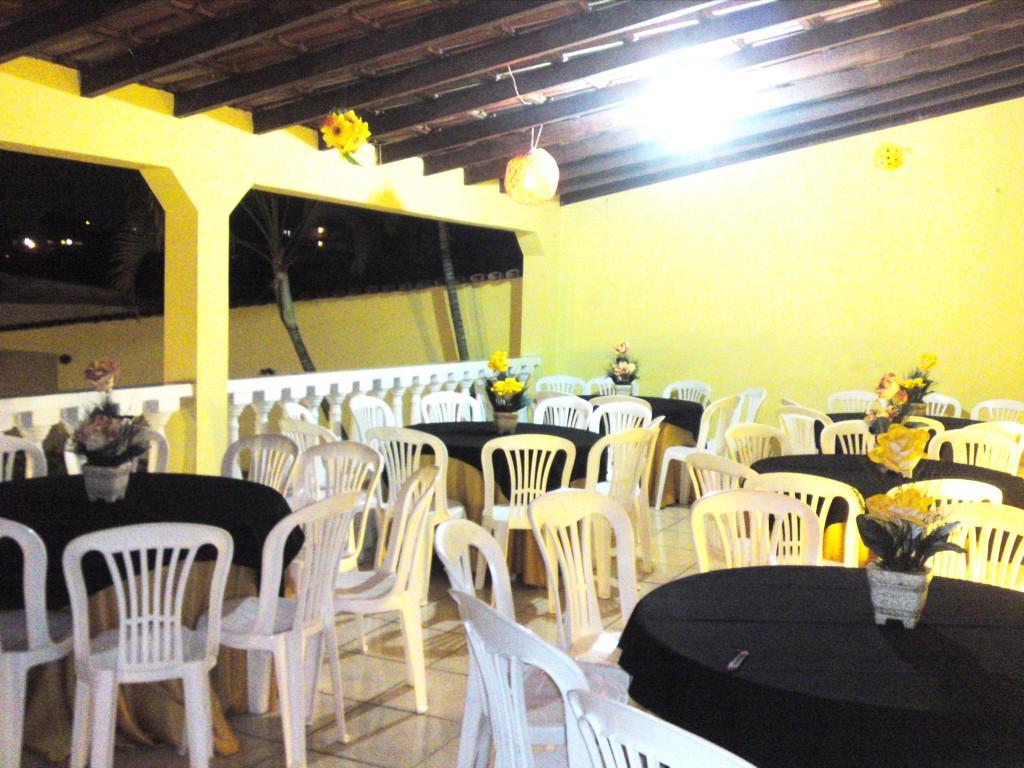 Espaço para convidados
