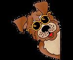 Hund mit Sonnenbrille.png