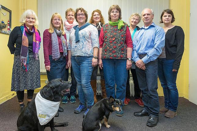 Gruppenfoto Team des Kreisverbands Legasthenie Lüneburger Heide e. V.