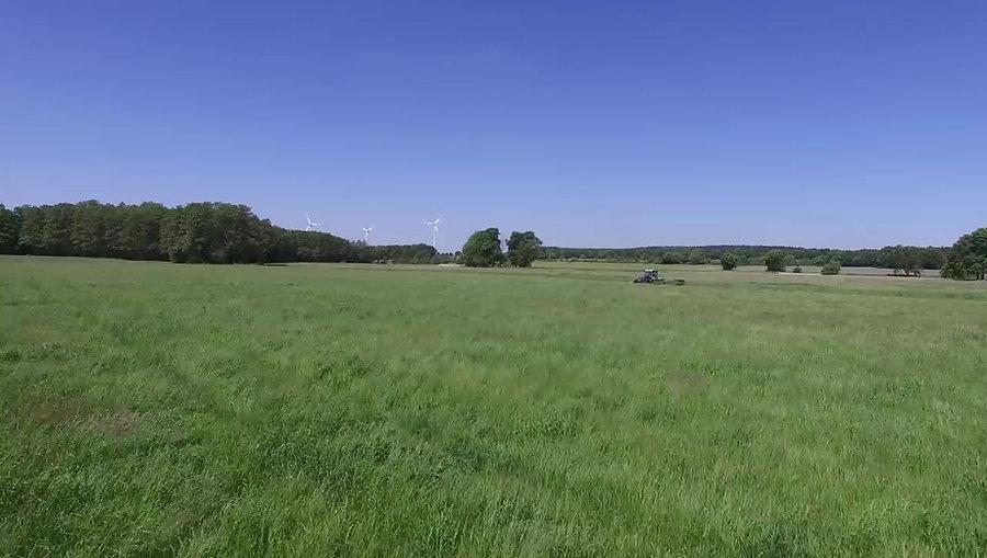 Der Mühlenhof aus der Luft gesehen