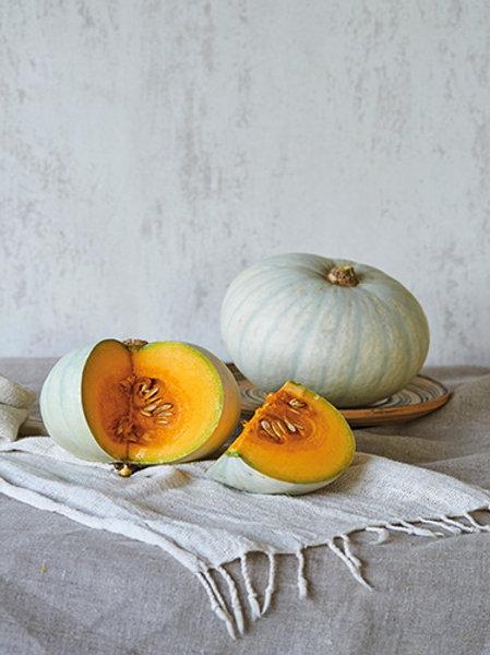 White Japanese Pumpkin (ฟักทองสีขาว)
