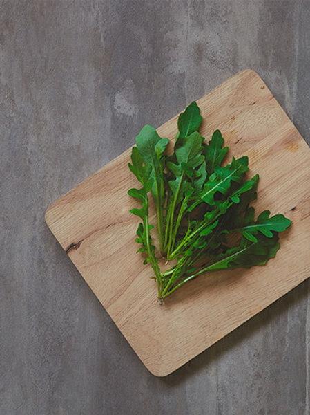 Wild Rocket Salad (ร็อกเก็ตสลัดพันธุ์ป่า (ใบหยิก))