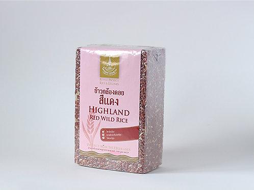 Highland Red Wild Rice 2 KG. (ข้าวกล้องดอยสีแดง 2 กก.)