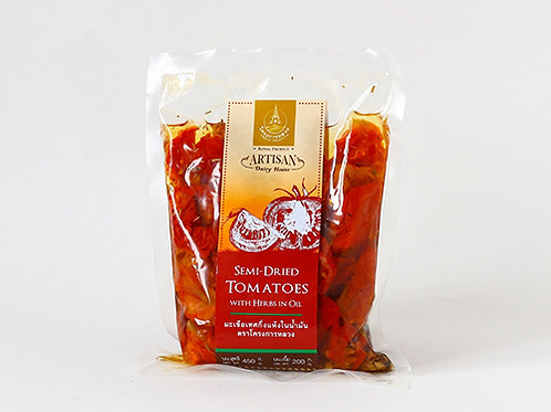 Sun-Dried Tomato in Olive Oil with Italian Parsley (มะเขือเทศกึ่งแห้งในน้ำมัน)