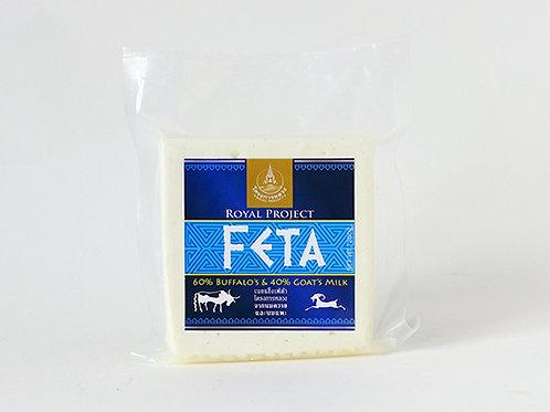 Feta (เนยแข็งเฟต้าโครงการหลวงจากนมควายและนมแพะ)