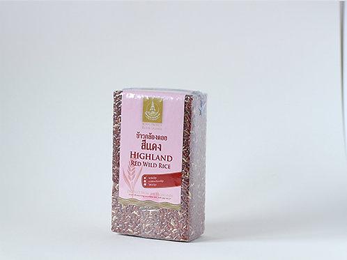 Highland Red Wild Rice 1 KG. (ข้าวกล้องดอยสีแดง 1 กก.)