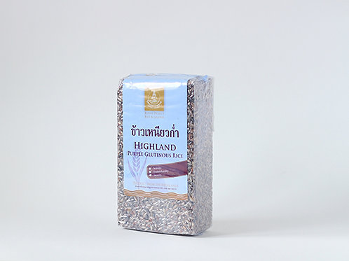Black Sticky Brown Rice 1 KG. (ข้าวเหนียวก่ำแพ็คสูญญากาศ 1 กก.)