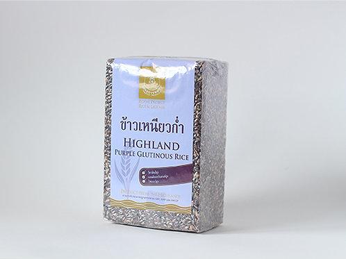 Black Sticky Brown Rice 2 KG. (ข้าวเหนียวก่ำแพ็คสูญญากาศ 2 กก.)