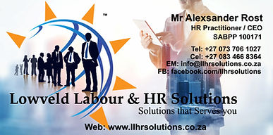 Labour, Financial and HR Services