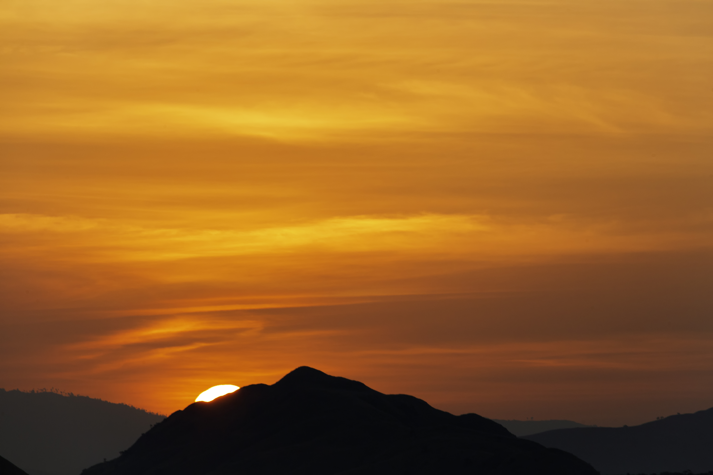 Komodo Abstract Sunset 1