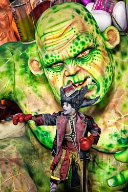 Carnival Monster vs. Boxer