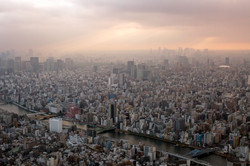 Sunset from Tokyo Sky Tree