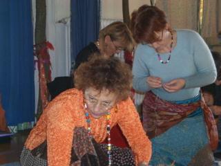 Corie, Jocelyne et Sabine