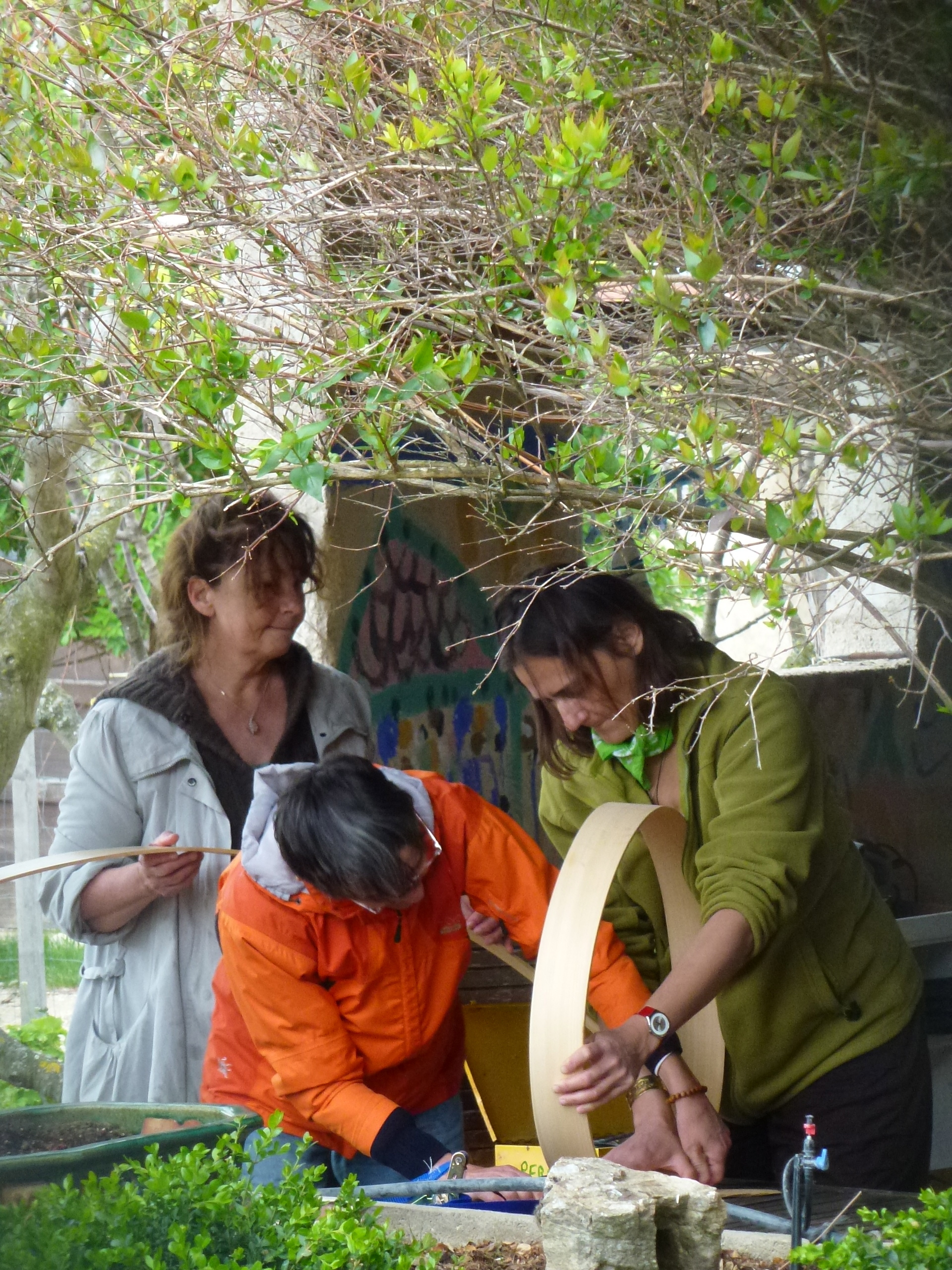 fabrication rituelle de tambour