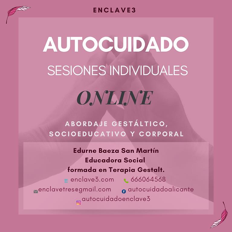 Sesiónes Individuales de Autocuidado ONLINE