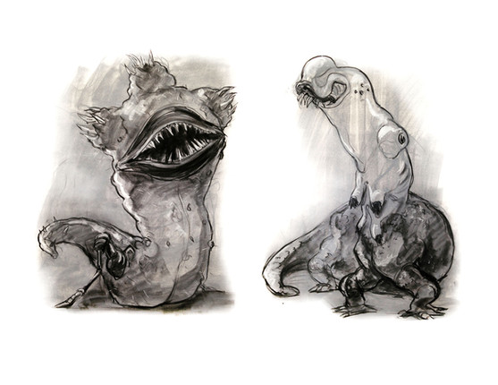 Conte Creature Design
