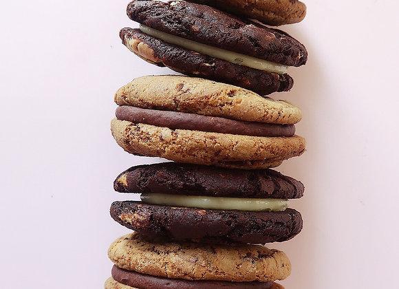 Mixed Cookie Sandwich Box x 4