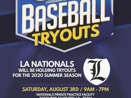 2020 Tryouts