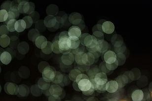 Undeutliche Leuchten