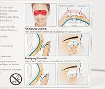 Meibomsche Drüsen, Disfunktion, Tränenfilm, Massage, Hygiene, Ergänzungsprodukte, Leinölkapseln, Augenmaske,