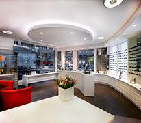 Flanierzone, Sonnenbrillen, Lesebrillen, Sportbrillen, Sportsonnenbrillen, Wartebereich, Optiker, Optician