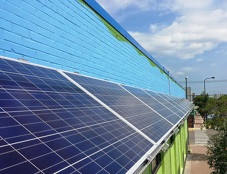 Harmony Co-op's Solar Awning
